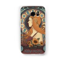 Amy Pond art nouveau Samsung Galaxy Case/Skin
