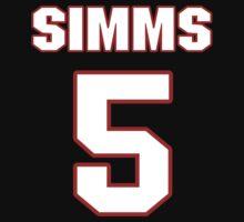 NFL Player Matt Simms five 5 by imsport