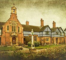 Laslett Almshouses, Worcester by Lissywitch