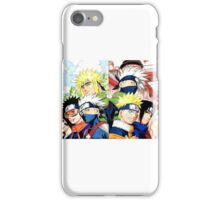 Obito&Minato&Kakashi&Naruto&Rin iPhone Case/Skin