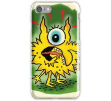 Yellow Monster iPhone Case/Skin