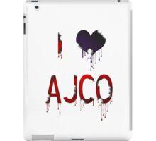 Burnt AJCO iPad Case/Skin