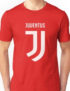 juventus new logo white Unisex T-Shirt