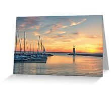 The Day is Done Greeting Card