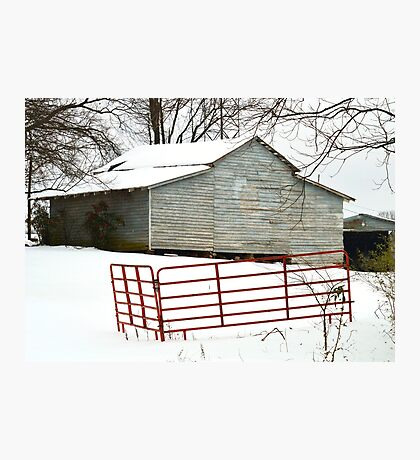 Red Gate Barn Photographic Print
