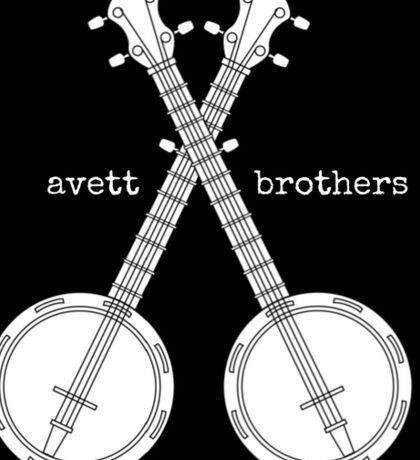 Banjo Avett Brothers Sticker