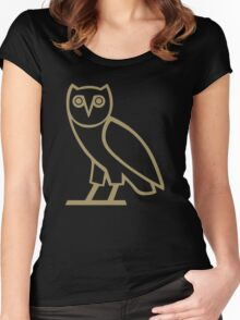 Gold Owl Women's Fitted Scoop T-Shirt