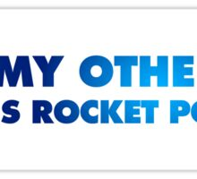 Rocket League – My other car is rocket powered – White Sticker