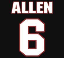 NFL Player Ryan Allen six 6 by imsport