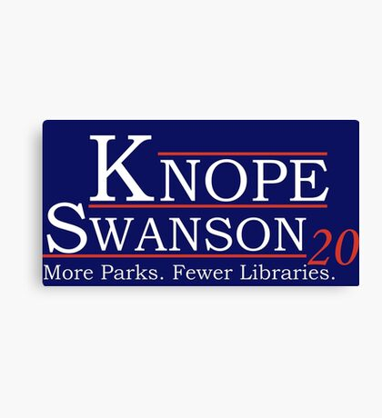 Knope Swanson 2020 Canvas Print