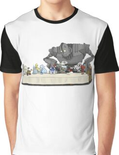 the Last Supper...with ROBOTS Graphic T-Shirt