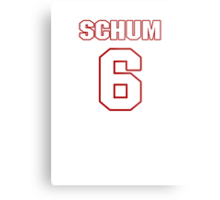 NFL Player Jacob Schum six 6 Metal Print