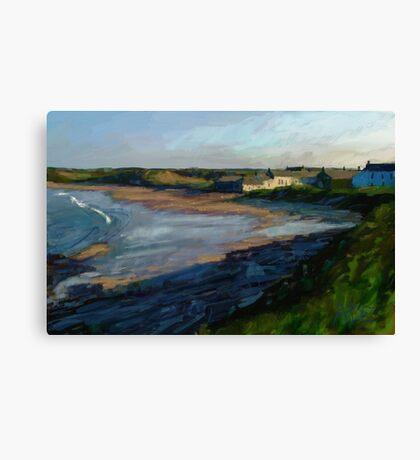 Low Newton, Evening Canvas Print
