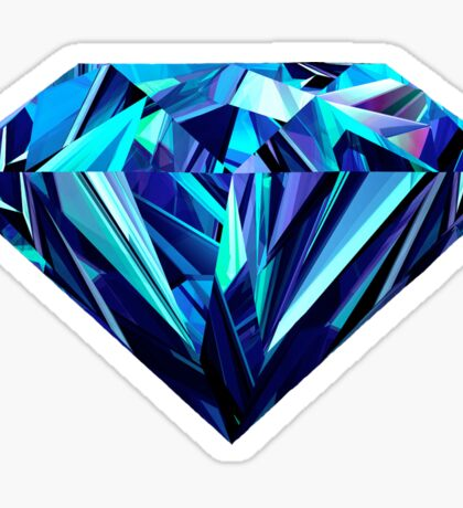 Abstract Diamond Sticker