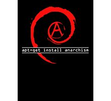 apt-get install anarchism  Photographic Print