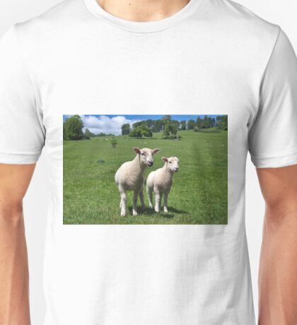 Lambs In Summertime 4 Unisex T-Shirt