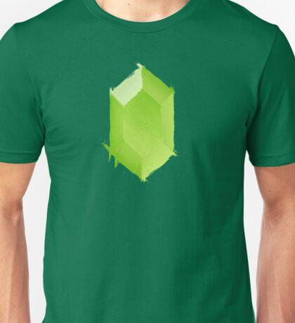 Green Rupee Paint Unisex T-Shirt