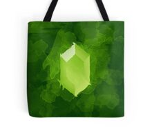 Green Rupee Paint Tote Bag