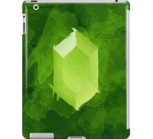 Green Rupee Paint iPad Case/Skin