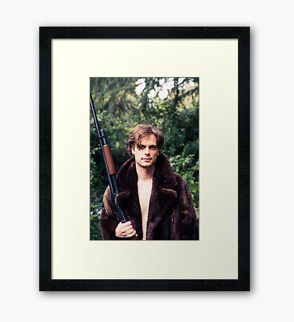 Matthew Gray Gubler Framed Print