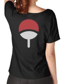 Uchiha Logo Women's Relaxed Fit T-Shirt