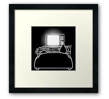 Regularly Playing Games Framed Print