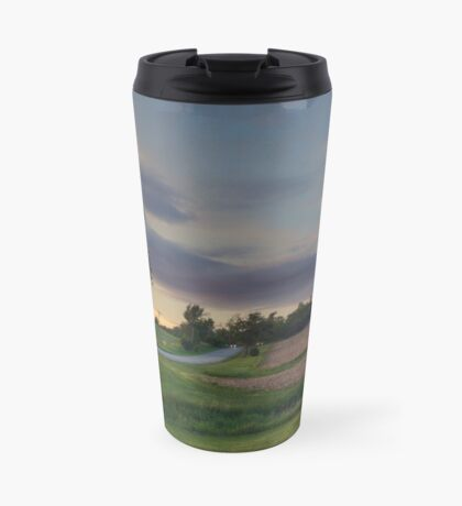 Farmland sunset  Travel Mug