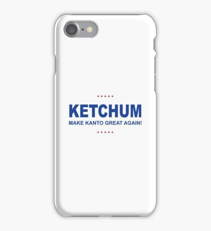 Ketchum Trump iPhone Case/Skin
