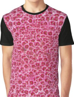 Texture Million red flowers Graphic T-Shirt