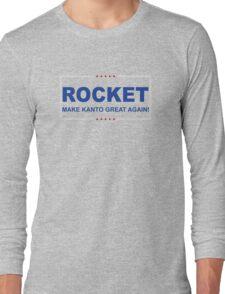 Rocket Trump Long Sleeve T-Shirt
