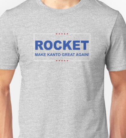 Rocket Trump Unisex T-Shirt