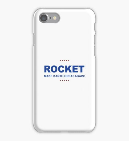 Rocket Trump iPhone Case/Skin
