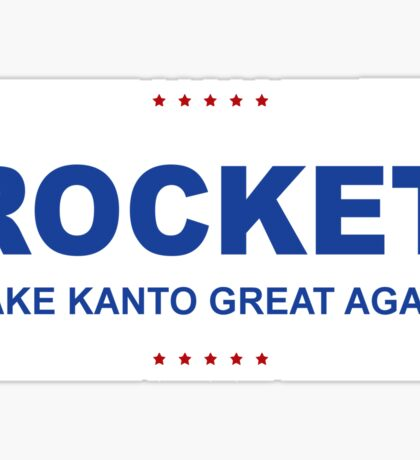 Rocket Trump Sticker