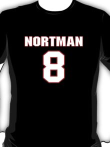 NFL Player Brad Nortman eight 8 T-Shirt