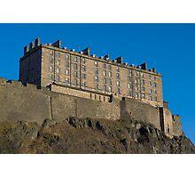Edinburgh Castle. Photographic Print