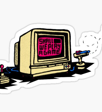 Retro Gaming Sticker
