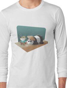 Goofy Panda Long Sleeve T-Shirt