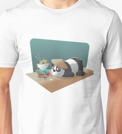 Goofy Panda Unisex T-Shirt