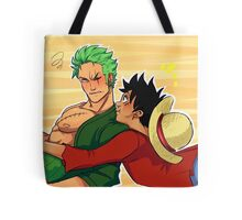 Captain and First Mate Tote Bag