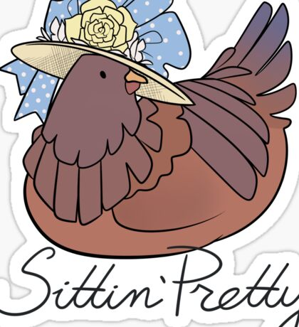 Sittin' Pretty Sticker