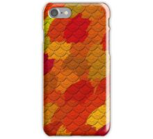 Textured warm painting iPhone Case/Skin