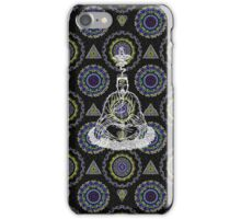 Meditating Man iPhone Case/Skin