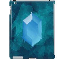 Blue Rupee Paint iPad Case/Skin