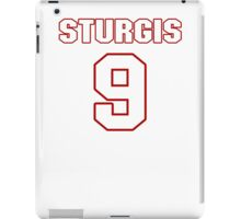 NFL Player Caleb Sturgis nine 9 iPad Case/Skin