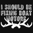 I should be fixing boat motors by Laura Spencer