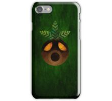 Deku Mask Paint iPhone Case/Skin