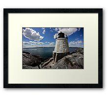 Rhode Island Lighthouse Framed Print