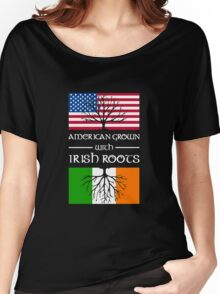 American Grown With Irish Roots copy Women's Relaxed Fit T-Shirt