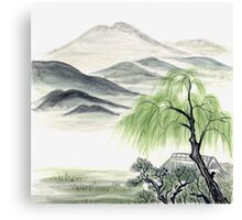 Willow by Amphai Masquelier Canvas Print