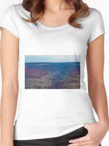 Grand Canyon Slice 2 Women's Fitted Scoop T-Shirt